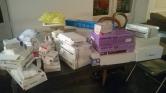 donation de l'association les petits coers de cuba à association abloski- afrique, los pequeños corazones de cuba- pauvres charité-caridad