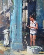 enmanuel-en-los-viajes-por-el-mundo-pintura-cubana-pequenos-corazones-de-cuba-pintor-toulouse